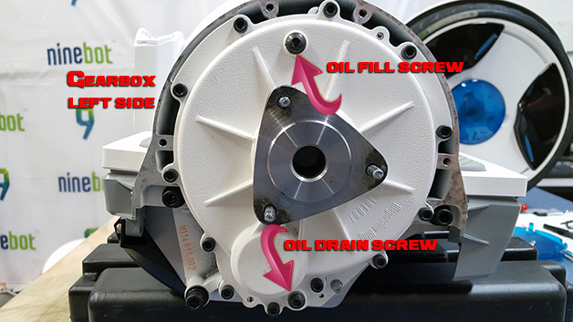 How to Change the Gear Oil in your Ninebot Elite PTR